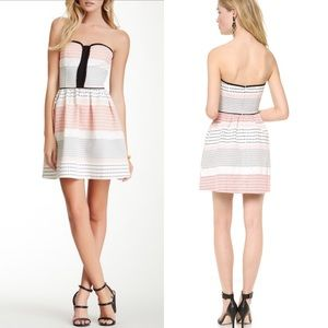 Ella moss zan strapless dress